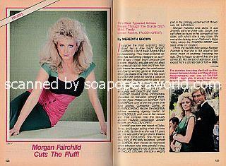 Interview with Morgan Fairchild (Jordan Roberts on Falcon Crest)