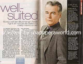 Interview with Ian Buchanan (Ian McAllister on Days Of Our Lives)