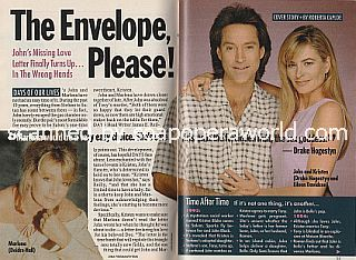Days Of Our Lives Cover Story