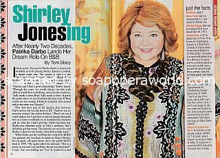 Interview with Patrika Darbo (Shirley Spectra on The Bold and The Beautiful)