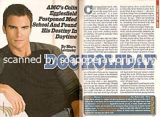 Colin Egglesfield (Josh, AMC)
