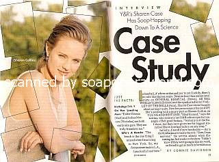 Interview with Sharon Case (Sharon Collins on The Young & The Restless)