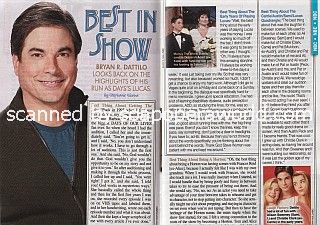 Interview with Bryan Dattilo of Days Of Our Lives