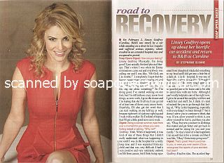 Interview with Linsey Godfrey (Caroline on The Bold & The Beautiful)