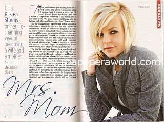 Interview with Kirsten Storms (Maxie Jones on the soap opera, General Hospital)