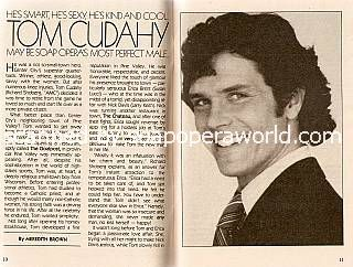 Richard Shoberg played the role of Tom Cudahy on All My Children