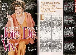 Louise Sorel (Vivian, DAYS)