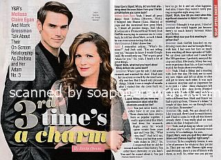 Interview with Mark Grossman & Melissa Claire Egan (Adam and Chelsea on The Young and The Restless)