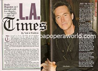 Interview with Drake Hogestyn (John Black on Days Of Our Lives)