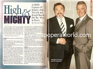 Joseph Mascolo & John McCook (Massimo & Eric, B&B)