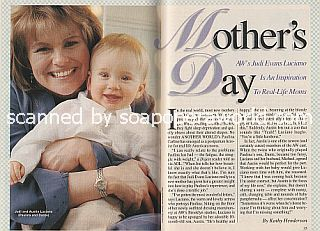 Interview with Judi Evans (Paulina on the NBC soap opera, Another World)