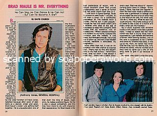 Interview with Brad Maule (Tony Jones on General Hospital)