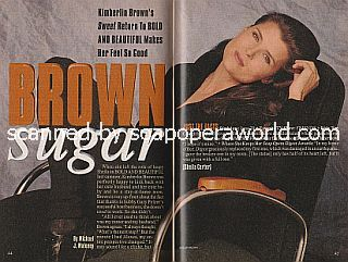 Interview with Kimberlin Brown (crazy Sheila on The Bold and The Beautiful)