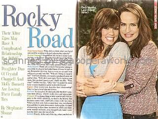 Interview with Molly Burnett & Crystal Chappell (Melanie & Carly on Days Of Our Lives)