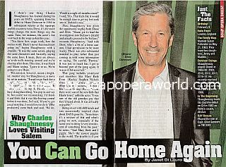 Interview with Charles Shaughnessy (Shane on Days Of Our Lives)