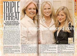 Tina Sloan, Beth Chamberlin & Marcy Rylan (Lillian, Beth & Lizzie of GL)