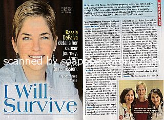 Interview with Kassie DePaiva </b>(ex-Eve on Days Of Our Lives and ex-Blair on One Life To Live)