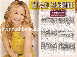 Interview with Sharon Case (Sharon on The Young and The Restless)