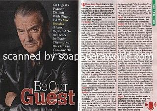 Interview with Eric Braeden of The Young & The Restless