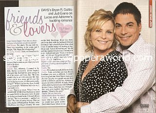 Interview with Judi Evans & Bryan Dattilo (Adrienne & Lucas on Days Of Our Lives)