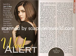 Interview with Jen Lilley (Theresa on the soap opera, Days Of Our Lives)