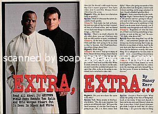 Interview with Tom Eplin and Eric Morgan Stuart (Jake and Chris on soap opera, Another World)