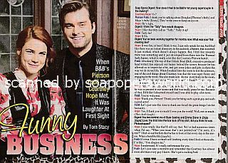 Interview with Courtney Hope and Pierson Fode (Sally Spectra and Thomas Forrester on The Bold and The Beautiful)