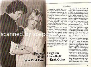 Interview with David Hasselhoff & Roberta Leighton