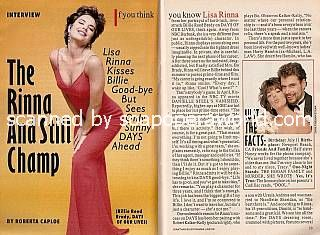 Interview with Lisa Rinna (Billie Reed on Days Of Our Lives)