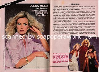 Interview with Donna Mills (Abby Cunningham on Knots Landing)