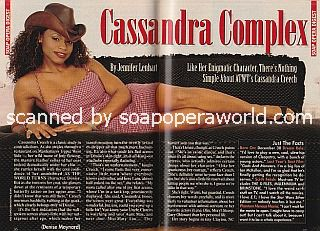 Interview with Cassandra Creech of As The World Turns