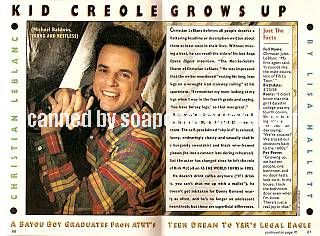 Christian LeBlanc of The Young & The Restless