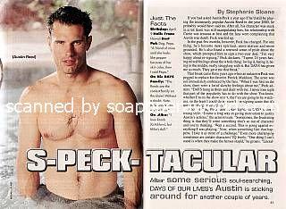 Austin Peck (Austin, Days Of Our Lives)