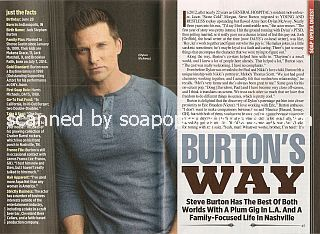 Interview with Steve Burton (Dylan McAvoy on The Young & The Restless)