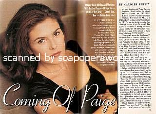 Paige Turco (Annie, Party of Five)