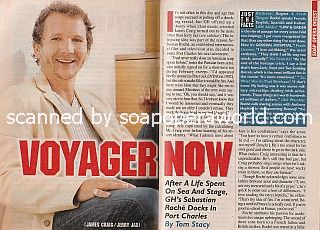 Interview with Sebastian Roche of General Hospital