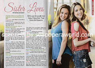 Interview with Lexi Ainsworth & Haley Pullos (Kristina and Molly on General Hospital)