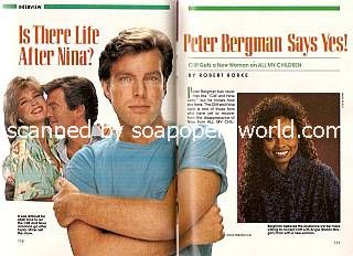 Interview with Peter Bergman (Cliff on All My Children)