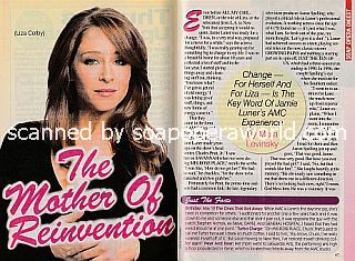 Interview with Jamie Luner (Liza on the ABC soap opera, All My Children)
