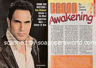 Interview with Don Diamont (Brad on The Young and The Restless)