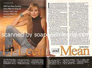 Interview with Eileen Davidson (Kristen DiMera on Days Of Our Lives)