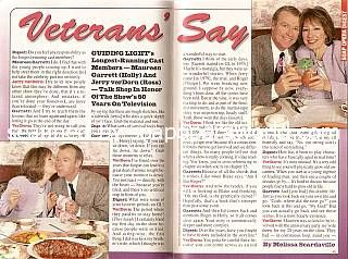 Interview with Maureen Garret and Jerry ver Dorn (Holly and Ross on Guiding Light)