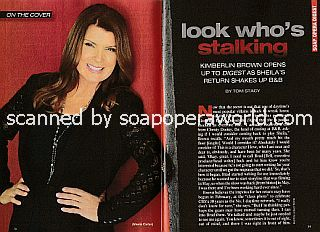 Interview with Kimberlin Brown (Sheila on The Bold and The Beautiful)