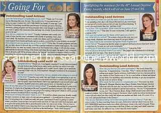 Going For Gold with the Daytime Emmy Nominees