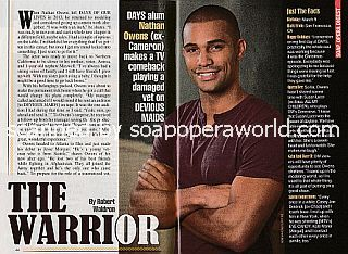 Interview with Nathan Owens (Jesse on Devious Maids)