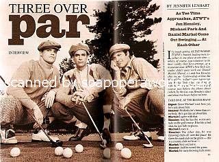 Michael Park, Daniel Markel & Jon Hensley (Jack, David & Holden, ATWT)