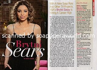 Interview with Brytni Sarpy (Elena Dawson on The Young and The Restless)