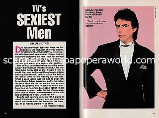 Soaps' Sexiest Men featuring Michael Wilding of Guiding Light