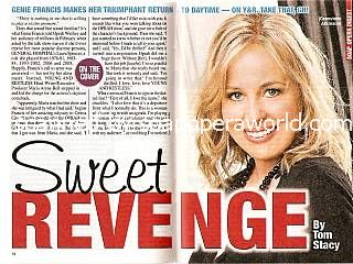 Interview with Genie Francis (Genevieve on The Young & The Restless)