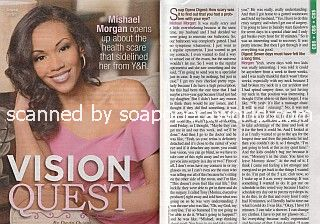 Interview with Mishael Morgan of The Young & The Restless